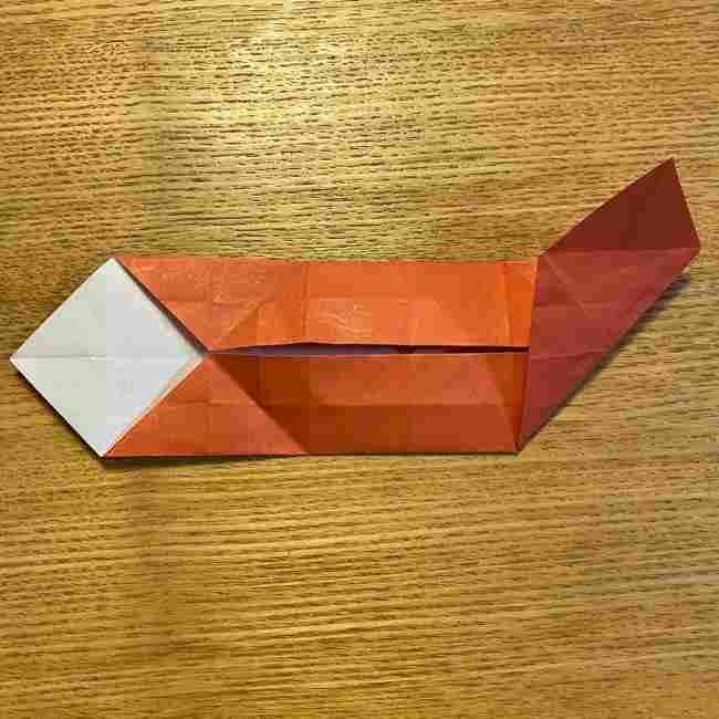 折り紙のポムポムプリン 立体的な箱*折り方作り方 (59)