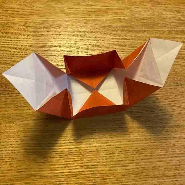 折り紙のポムポムプリン 立体的な箱*折り方作り方 (62)