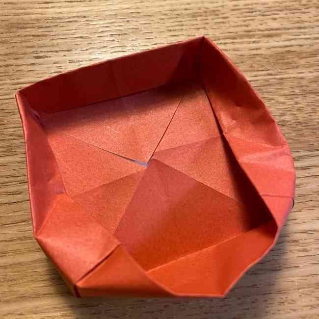折り紙のポムポムプリン 立体的な箱*折り方作り方 (64)