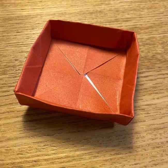 折り紙のポムポムプリン 立体的な箱*折り方作り方 (65)