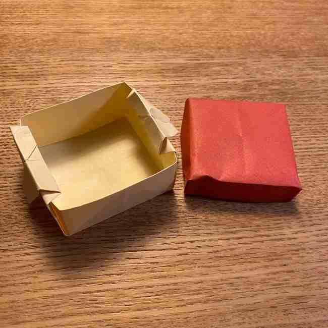 折り紙のポムポムプリン 立体的な箱*折り方作り方 (66)