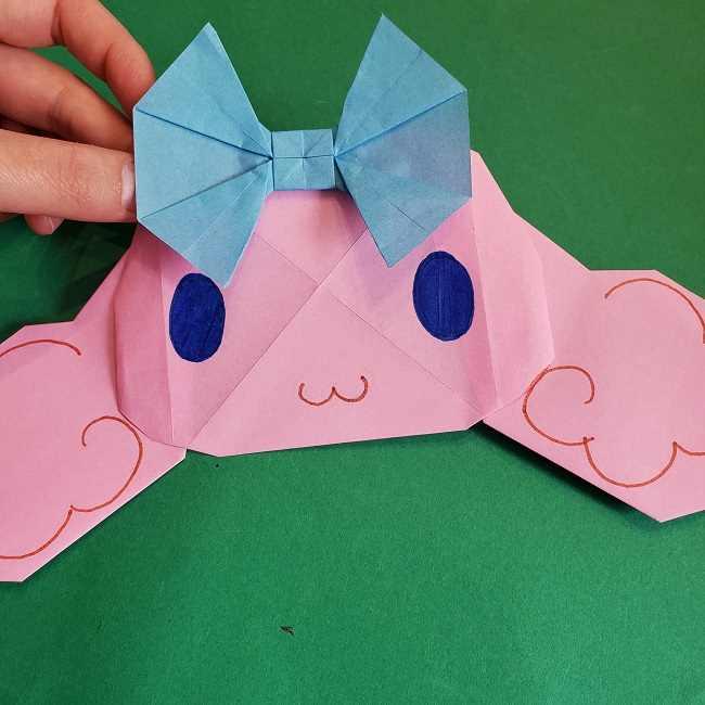 折り紙のポロン☆サンリオ「シナモロール」のキャラクターの簡単作り方折り方