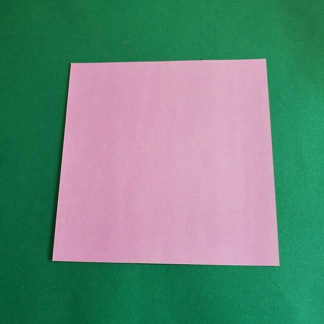 折り紙のポロンの作り方折り方①顔 (10)