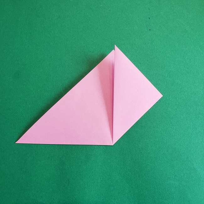 折り紙のポロンの作り方折り方①顔 (12)