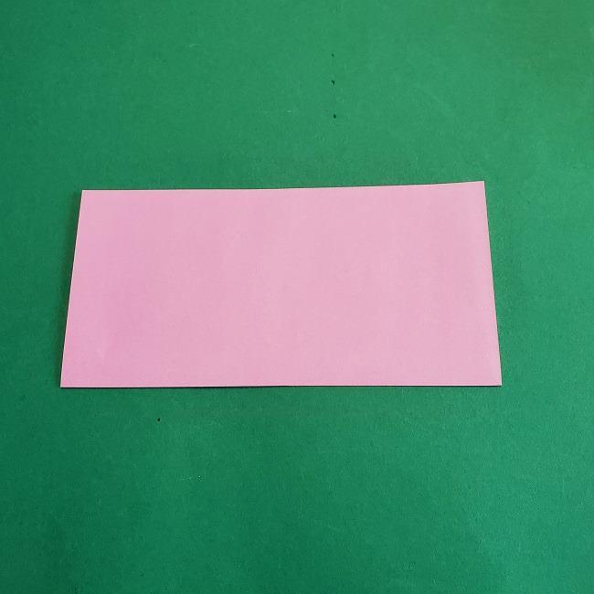 折り紙のポロンの作り方折り方①顔 (2)