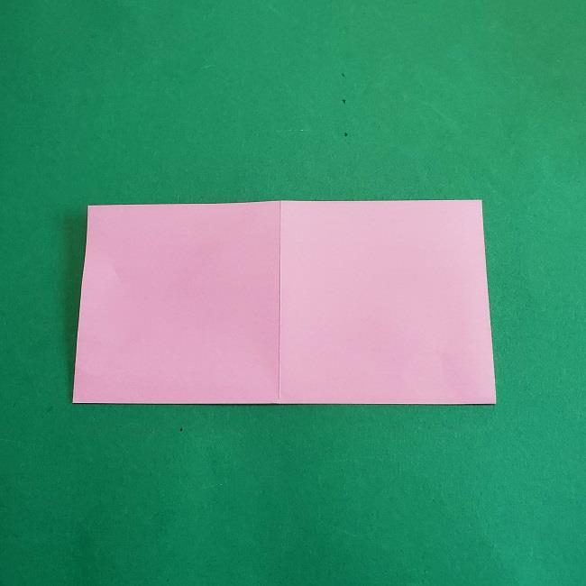 折り紙のポロンの作り方折り方①顔 (3)