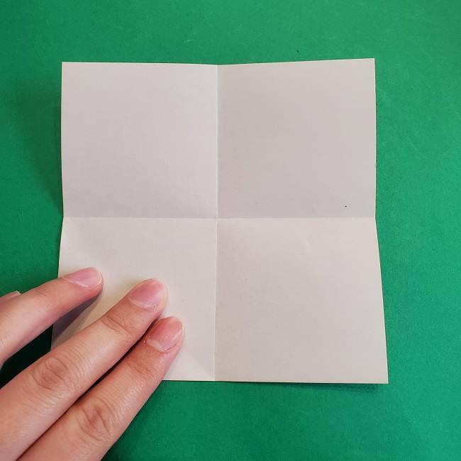 折り紙のポロンの作り方折り方①顔 (4)