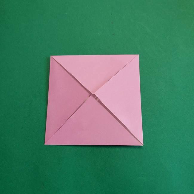 折り紙のポロンの作り方折り方①顔 (5)