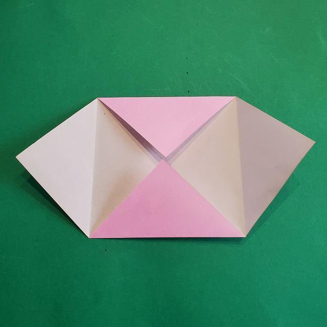 折り紙のポロンの作り方折り方①顔 (6)