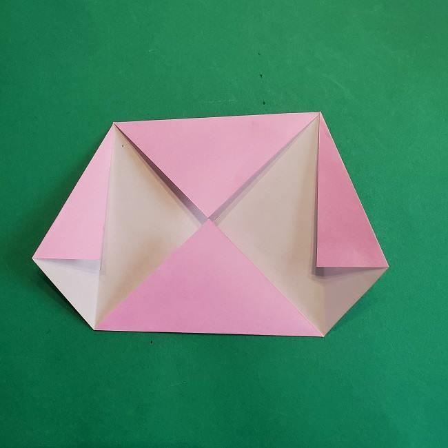 折り紙のポロンの作り方折り方①顔 (7)