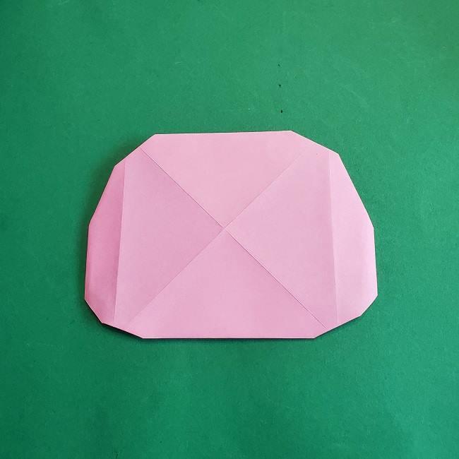 折り紙のポロンの作り方折り方①顔 (9)