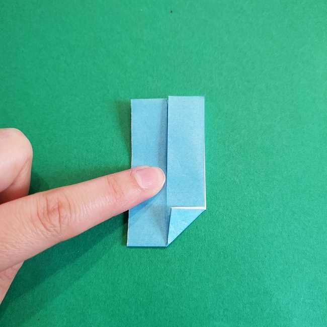 折り紙のポロンの作り方折り方②リボン (10)