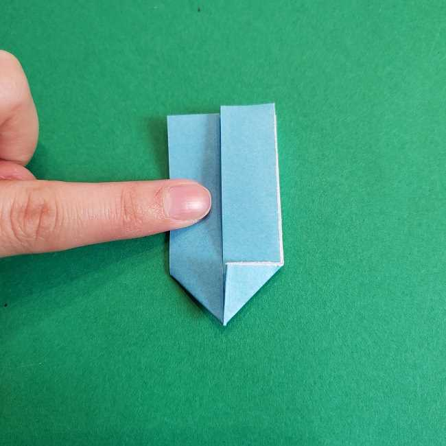 折り紙のポロンの作り方折り方②リボン (12)