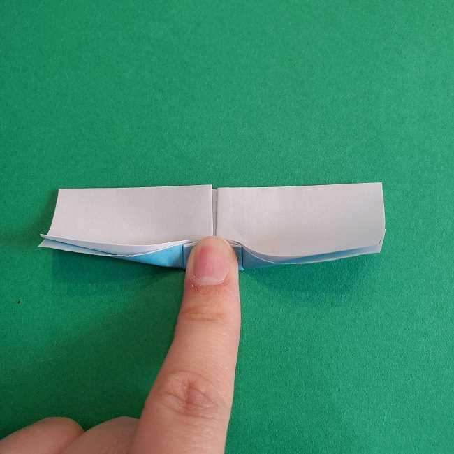 折り紙のポロンの作り方折り方②リボン (17)