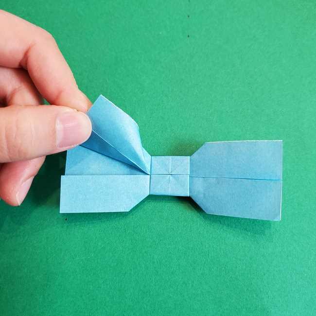 折り紙のポロンの作り方折り方②リボン (22)