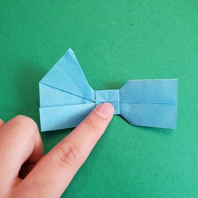 折り紙のポロンの作り方折り方②リボン (24)