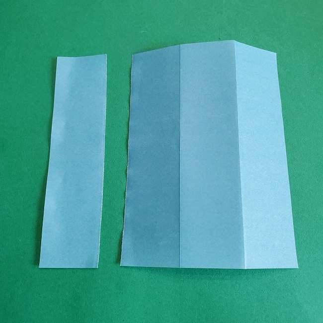 折り紙のポロンの作り方折り方②リボン (3)