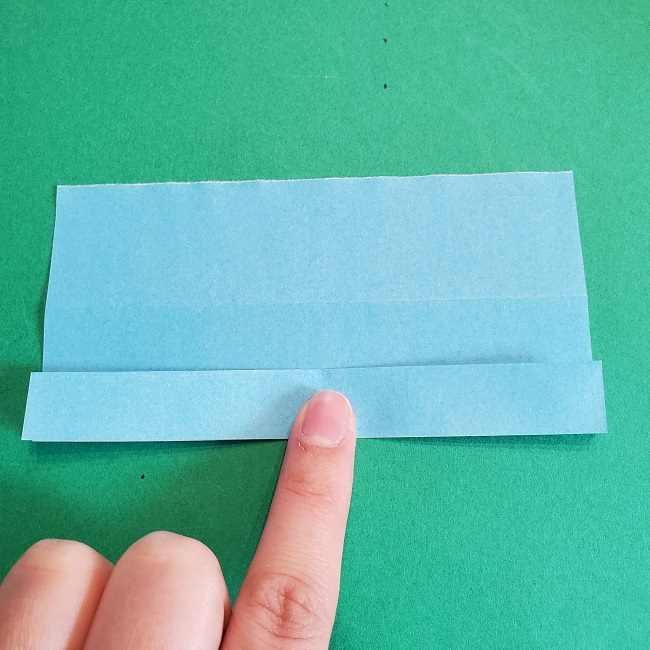 折り紙のポロンの作り方折り方②リボン (6)