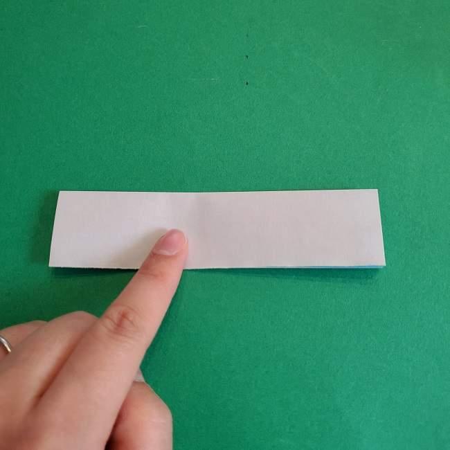 折り紙のポロンの作り方折り方②リボン (7)