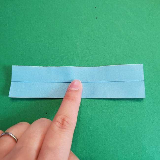 折り紙のポロンの作り方折り方②リボン (8)