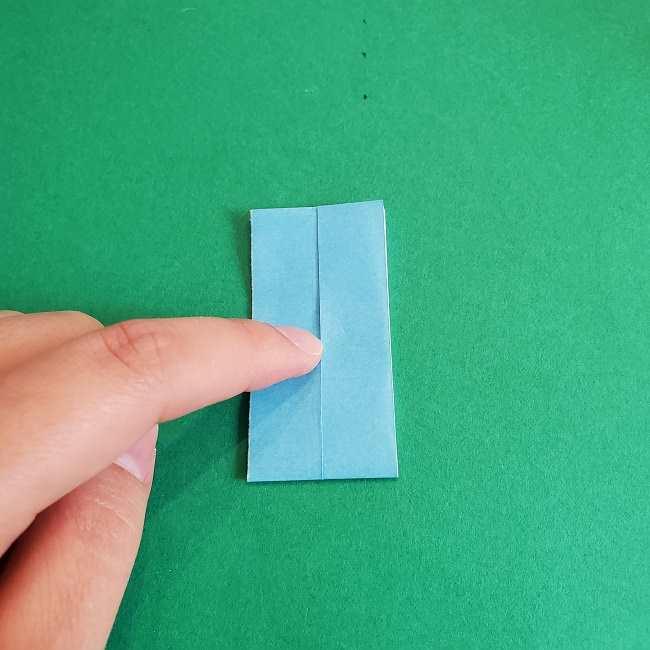 折り紙のポロンの作り方折り方②リボン (9)