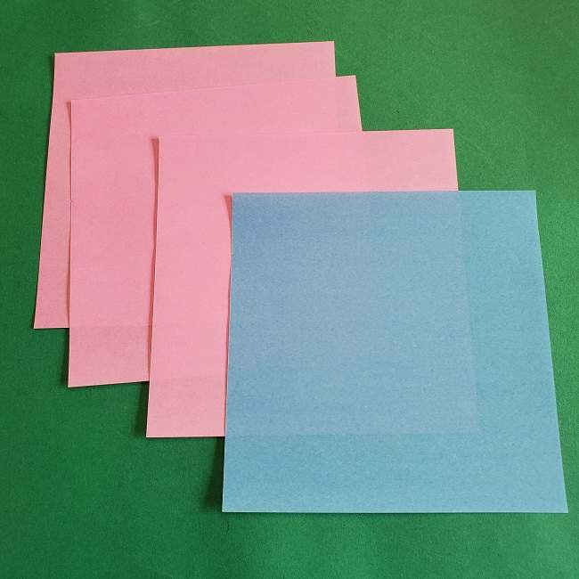 折り紙のポロン*用意する物 (1)