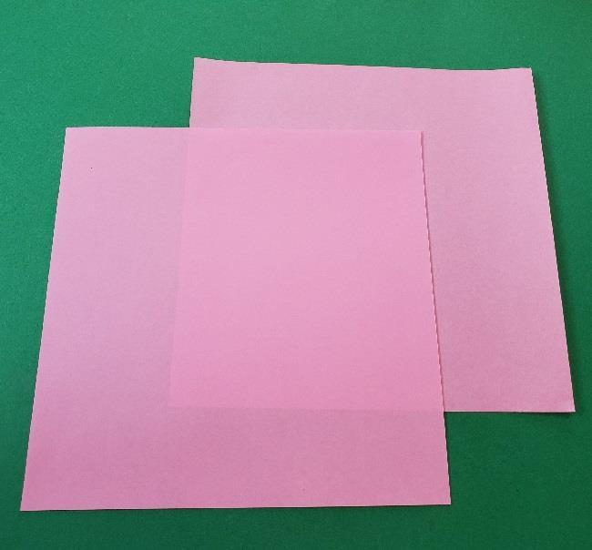 折り紙のマイメロちゃんの作り方☆用意するもの (1)