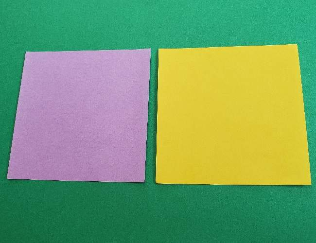 折り紙のマイメロちゃんの作り方☆用意するもの (2)
