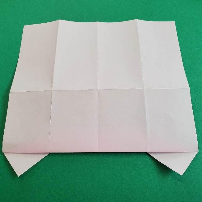 折り紙のマイメロちゃんの作り方折り方 (10)