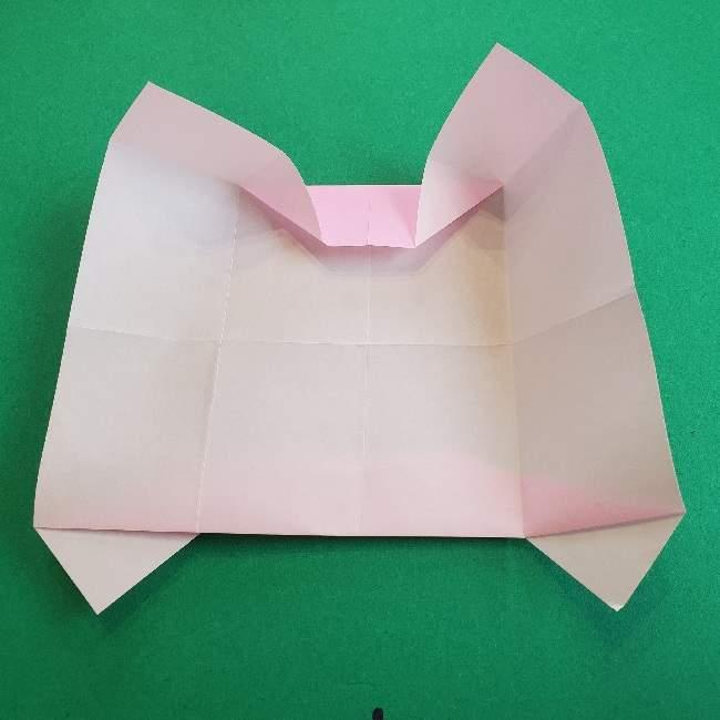 折り紙のマイメロちゃんの作り方折り方 (12)