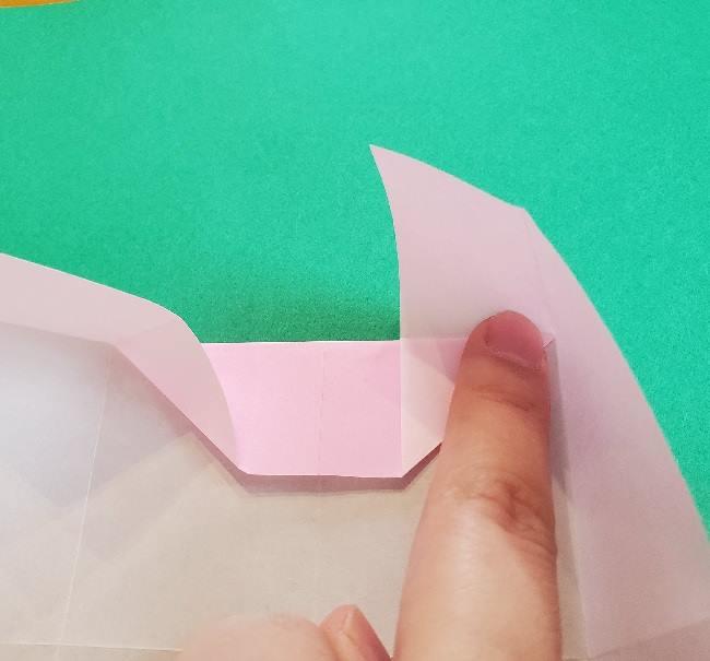 折り紙のマイメロちゃんの作り方折り方 (13)