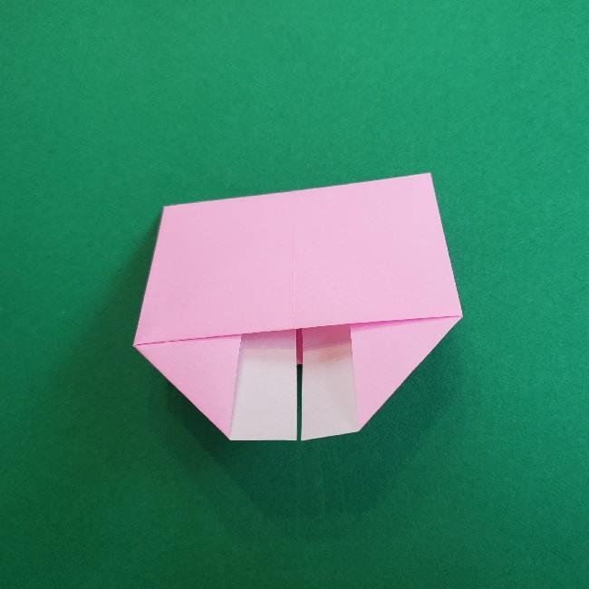 折り紙のマイメロちゃんの作り方折り方 (18)