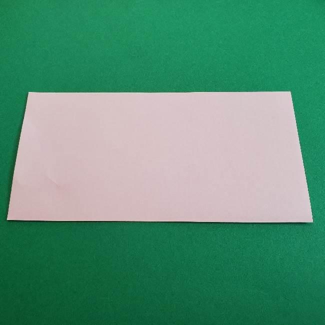 折り紙のマイメロちゃんの作り方折り方 (2)