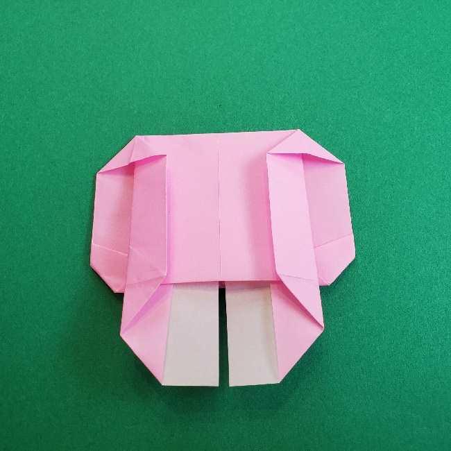 折り紙のマイメロちゃんの作り方折り方 (20)