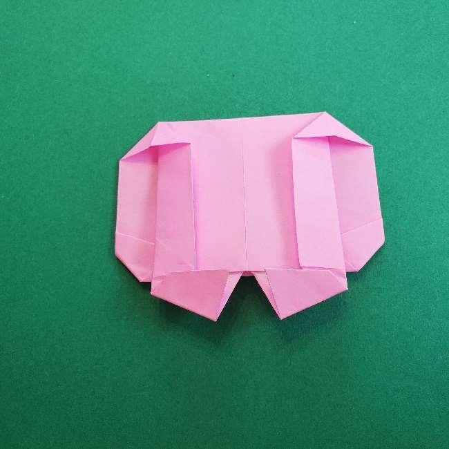 折り紙のマイメロちゃんの作り方折り方 (22)