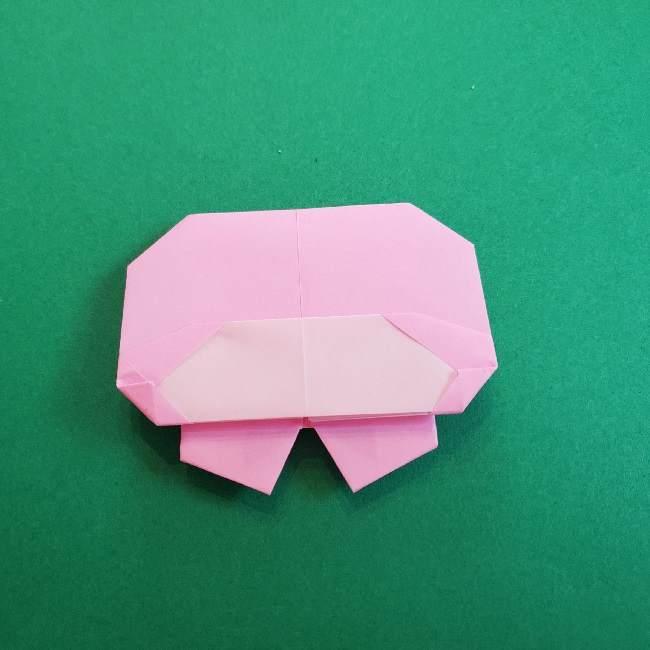 折り紙のマイメロちゃんの作り方折り方 (23)