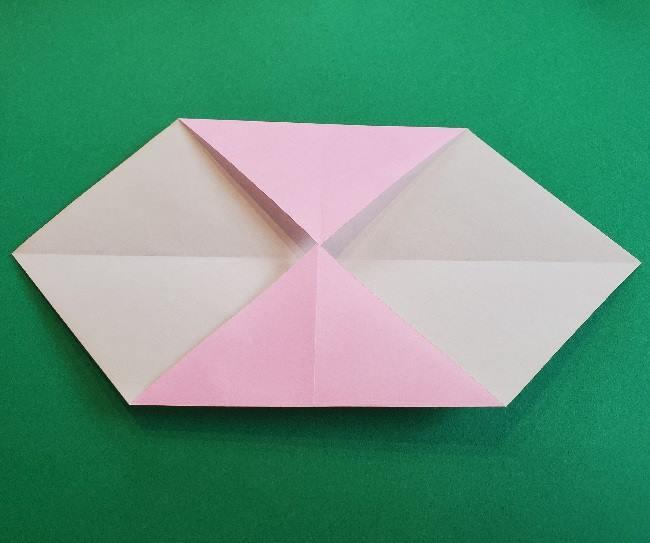 折り紙のマイメロちゃんの作り方折り方 (28)