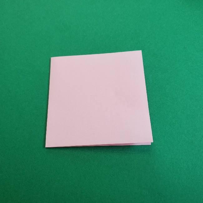 折り紙のマイメロちゃんの作り方折り方 (3)