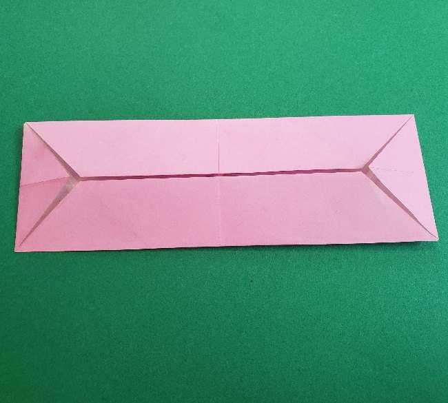 折り紙のマイメロちゃんの作り方折り方 (30)