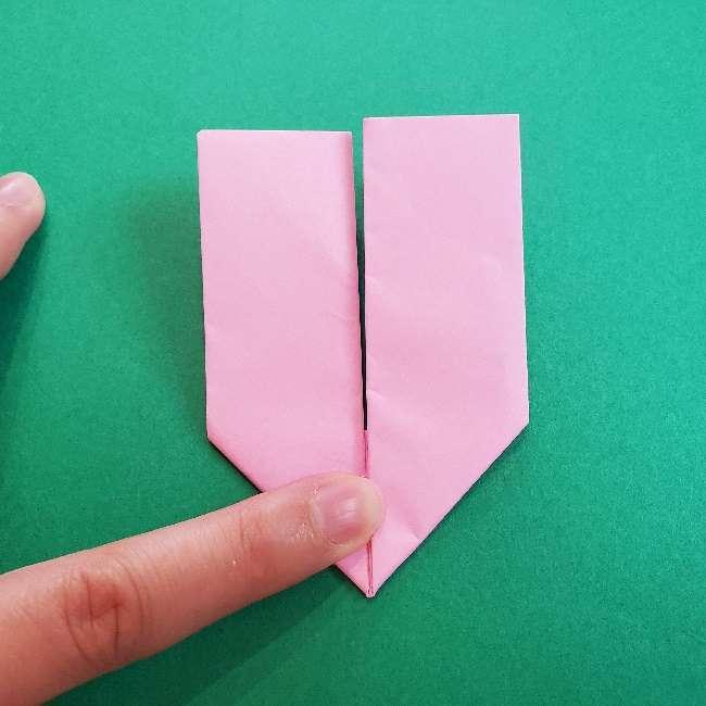 折り紙のマイメロちゃんの作り方折り方 (32)