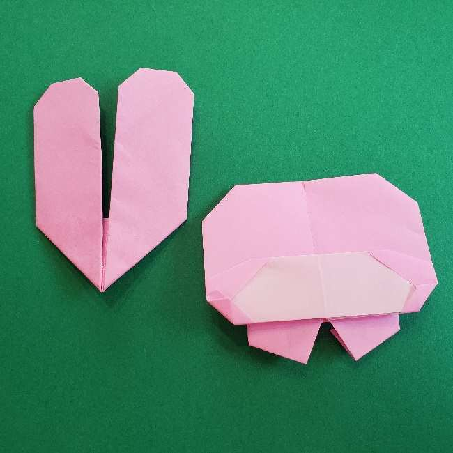 折り紙のマイメロちゃんの作り方折り方 (34)