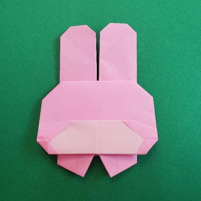 折り紙のマイメロちゃんの作り方折り方 (35)