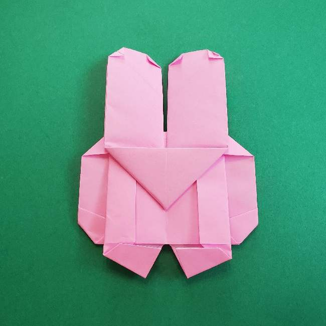 折り紙のマイメロちゃんの作り方折り方 (38)