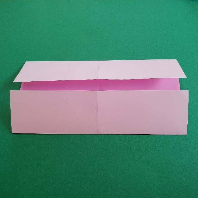 折り紙のマイメロちゃんの作り方折り方 (4)