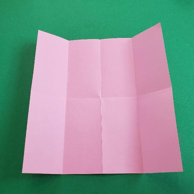 折り紙のマイメロちゃんの作り方折り方 (5)