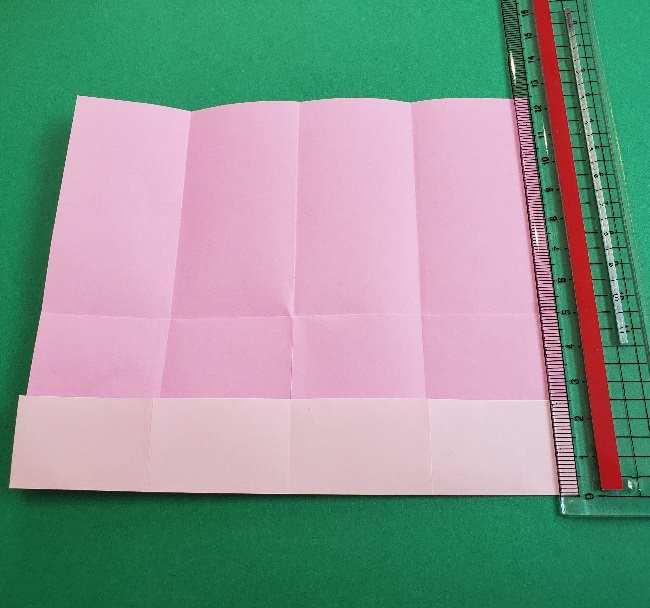 折り紙のマイメロちゃんの作り方折り方 (6)