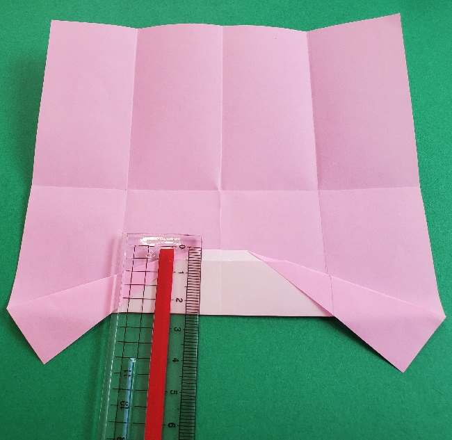 折り紙のマイメロちゃんの作り方折り方 (8)