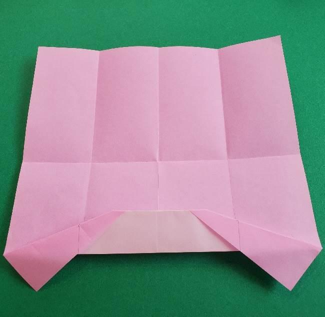 折り紙のマイメロちゃんの作り方折り方 (9)