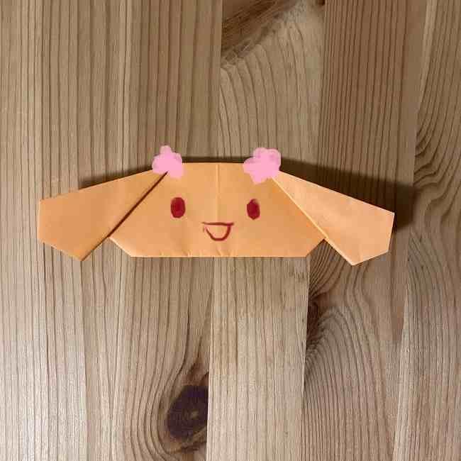 折り紙のモカとカプチーノ*折り方作り方 (15)