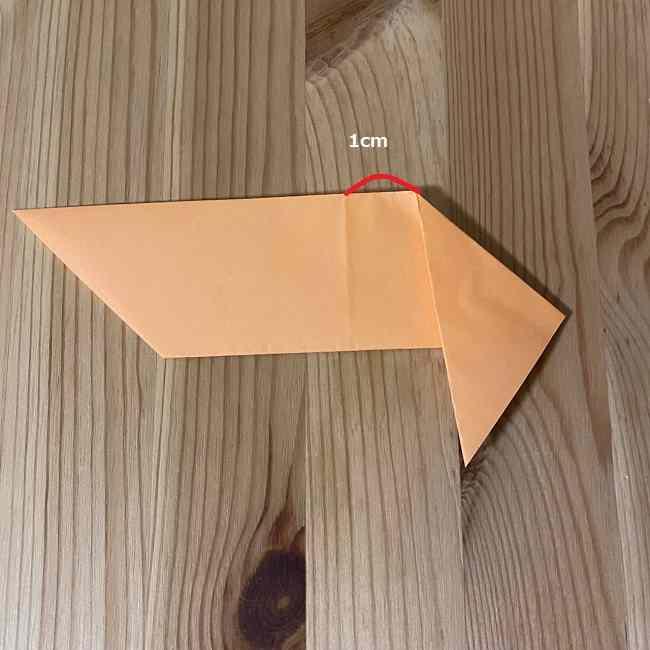 折り紙のモカとカプチーノ*折り方作り方 (5)